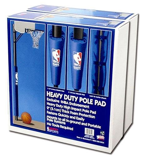 "Spalding NBA Heavy-Duty Basketball Pole Pad, 1.5"""