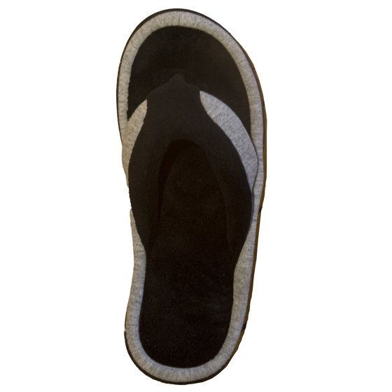 3264058add9f Isotoner - Isotoner Women s Microterry Jersey Michelle Thong Slipper ...