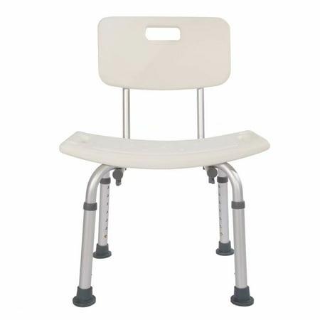 Heavy-duty Aluminum Alloy Old People Backrest Bath Chair CST-3012 - Backrests Shop