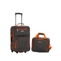 Deals on Rockland Luggage Rio SoftSide 2-Piece Carry-On Luggage Set