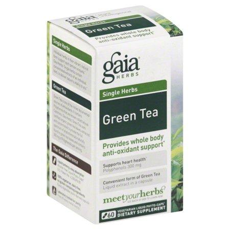 Gaia Herbs Gaia Single Herbs Green Tea, 60 -