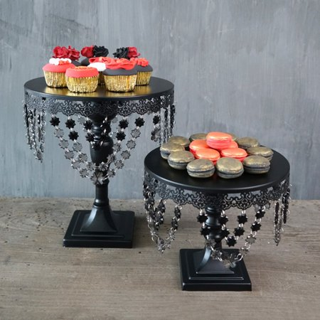 Moaere Luxury Crystal Cake Stand Afternoon Tea Wedding Plates Party Tableware