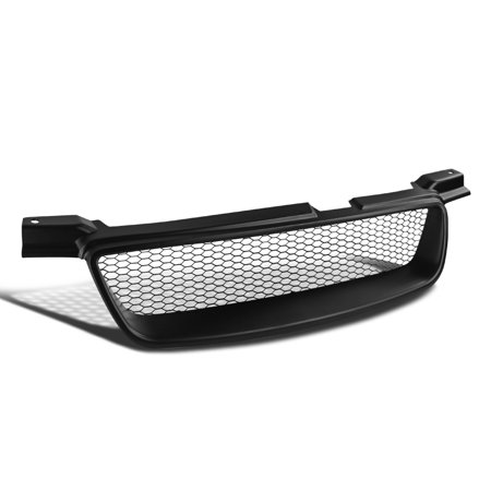Spec-D Tuning For 2000-2003 Nissan Sentra Black Abs Front Mesh Upper Hood Grille 00 01 02 03 - Aps Mesh