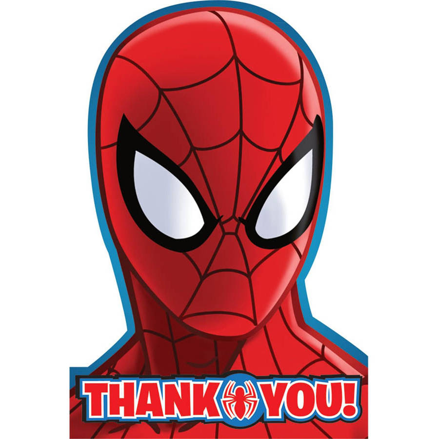 Spiderman Thank You Notes