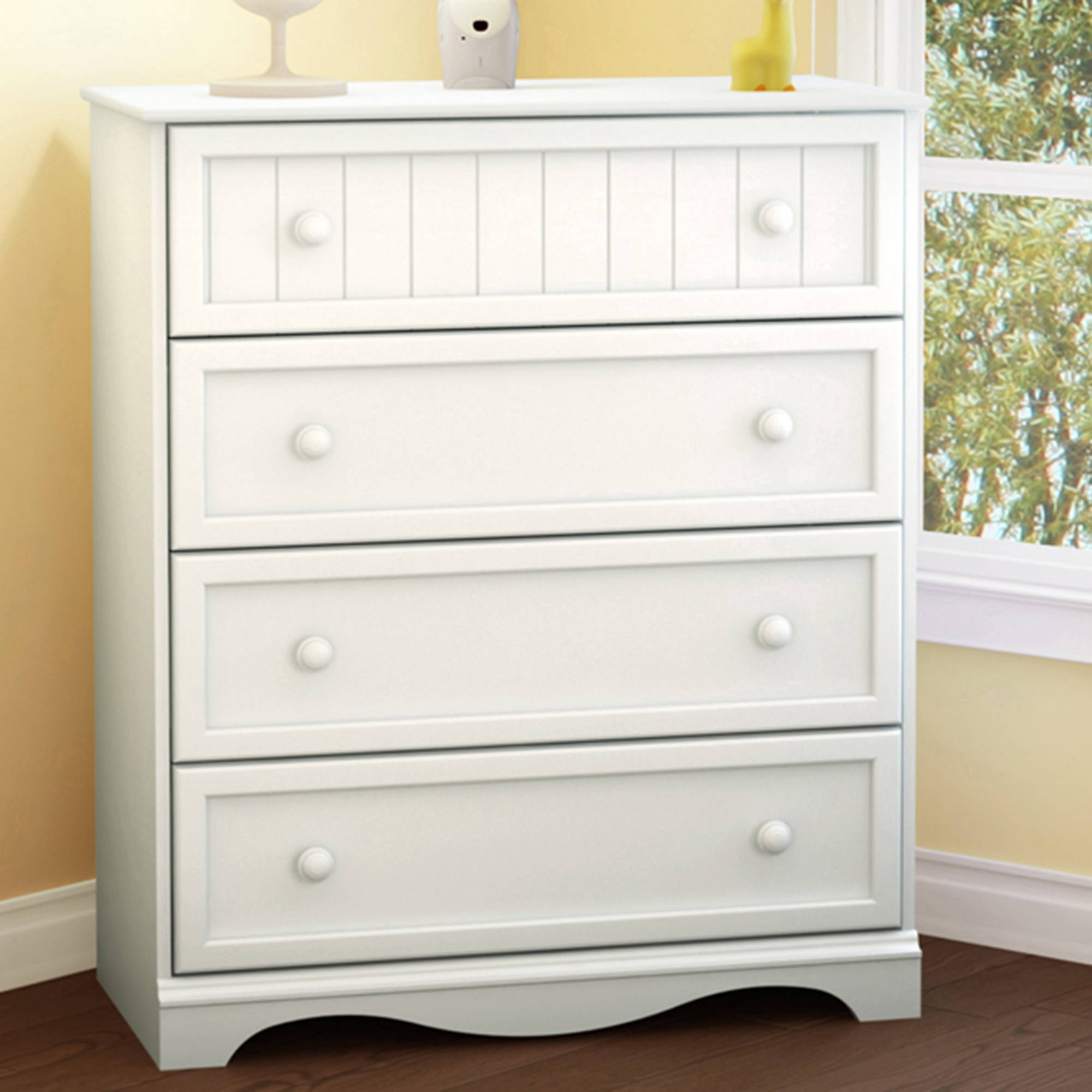 South Shore Savannah 4-Drawer Chest, Multiple Finishes
