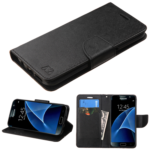 MyJacket Booke Style Wallet Case +Card Slot Cover Case for Samsung Galaxy S7
