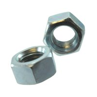 10/24 Zinc Plated Hex Nuts (Box of 100)