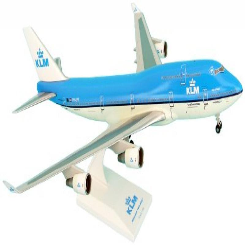 Daron Skymarks Klm 747-400 1/200 New Livery Model Kit with Gear