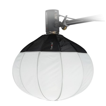 Fotodiox Lantern Softbox 20in (50cm) Globe - Collapsible Globe Softbox with Bowens Speedring for Bowens, Interfit and Compatible Lights