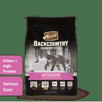 Merrick Backcountry Kitten Grain-Free Dry Cat Food (Various Sizes)