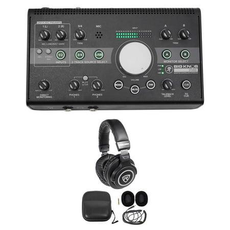 New Mackie Big Knob Studio 3X2 Monitor Controller 96Khz Usb I O   Headphones