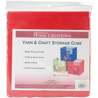 Yarn & Craft Storage Cube