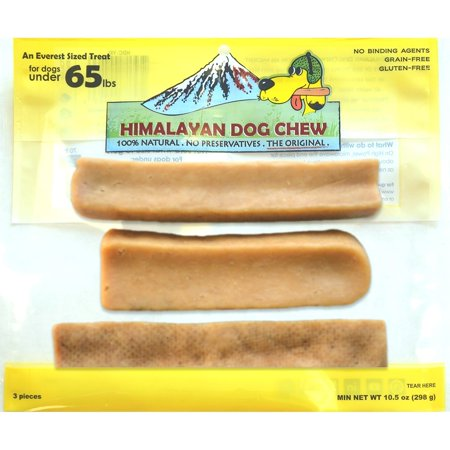 Himalayan Dog Chew 100 Percent Natural Dog Treat  Mixed  11 5 Oz  3Pc