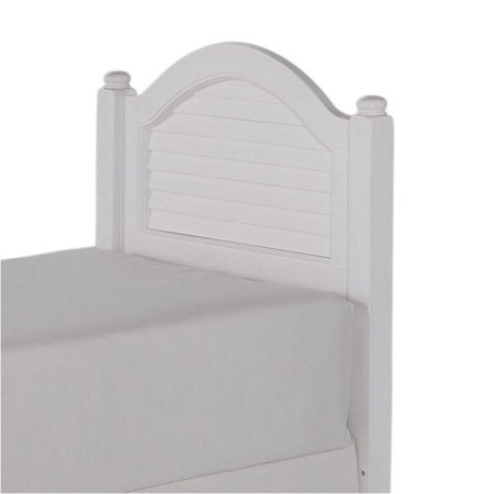 Hawthorne collections twin wood shutter panel headboard in - Hawthorne bedroom furniture collection ...