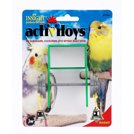 Activitoy Bird Toy Birdie Barbell