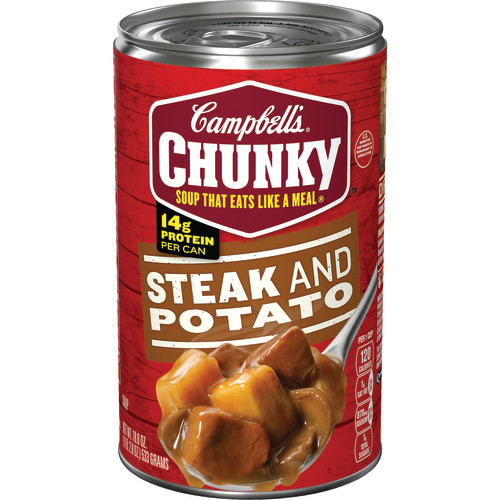 Campbell's Chunky Steak & Potato Soup, 18.8 oz.