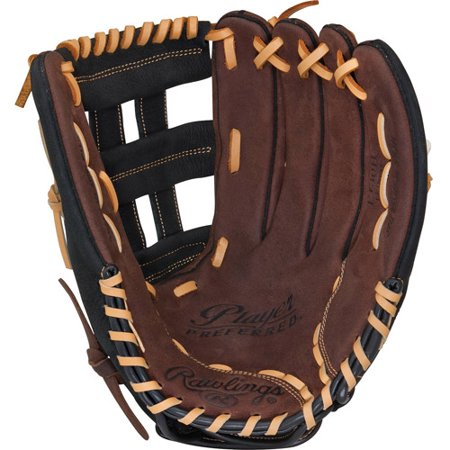 Rawlings Player Preferred 12.5 Adult Baseball Glove, Left-Handed