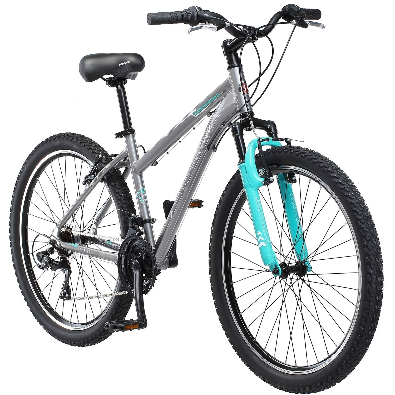 "26"" Schwinn Sidewinder Women's Mountain Bike, Silver"