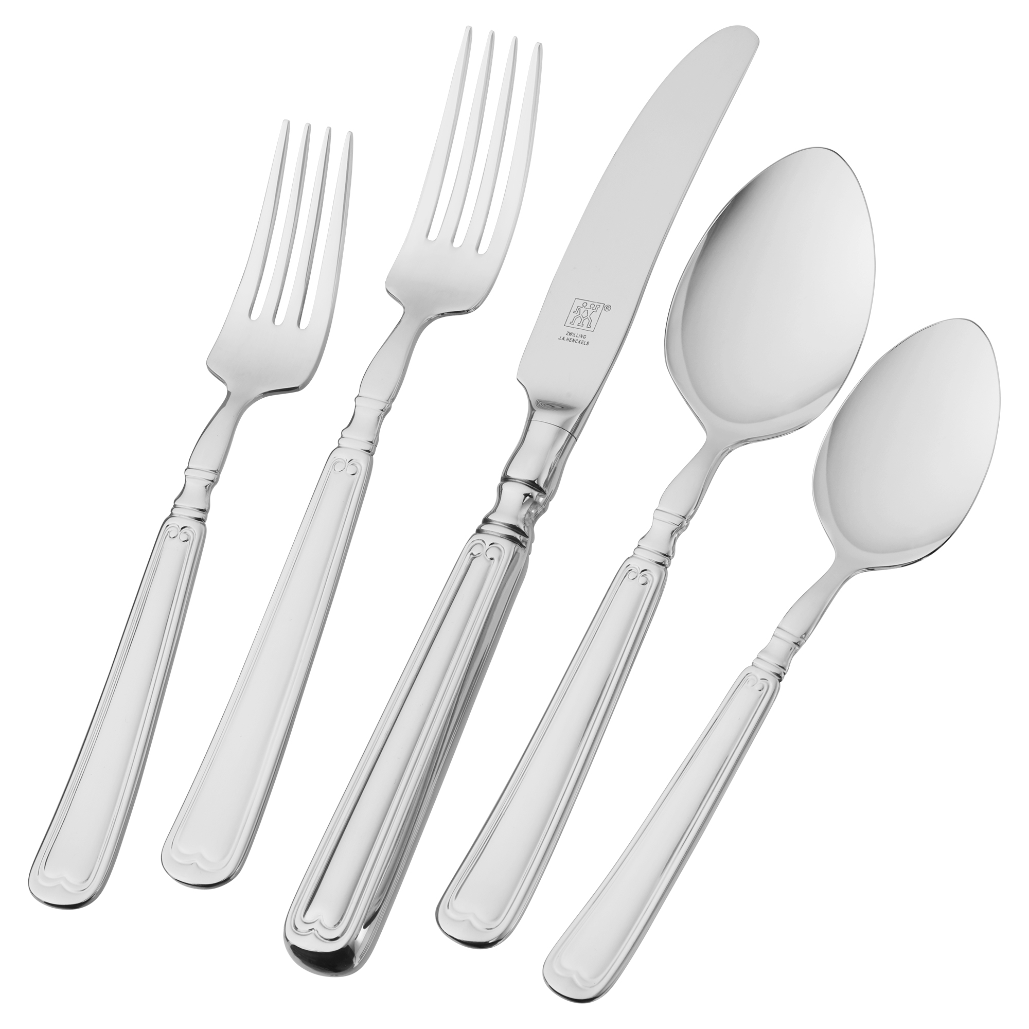 ZWILLING J.A. Henckels Vintage 1876 45-pc 18/10 Stainless Steel Flatware Set