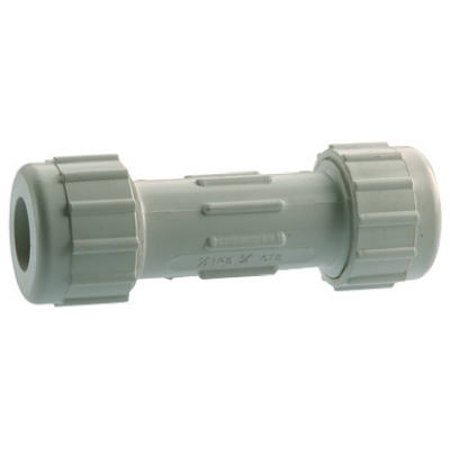 "Pvc Compression Repair Coupling, 1"", Homewerks, 511-43-1-1B"