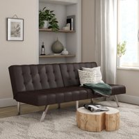 Mainstays Morgan Convertible Tufted Futon, Multiple Colors