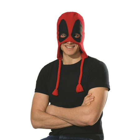 Deadpool Costume For Women (Deadpool 2 Classic Deadpool Fleece Hat Halloween Costume)