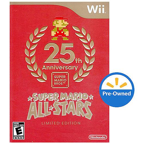 Super Mario Allstars 25 Year Edition Wii - Preowned