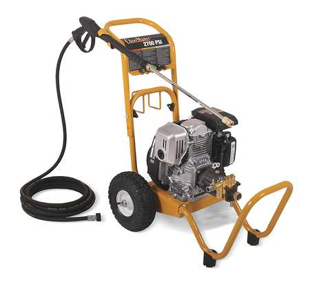 CHORE MASTER 2700 psi 2.3 gpm Cold Water Gas Pressure Washer, GP-2700-4MHB