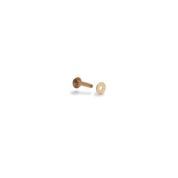 Tandy Leather 12 Copper Rivets Burrs 3 4 19 Mm 75 Pk 11281 01 Walmart Com