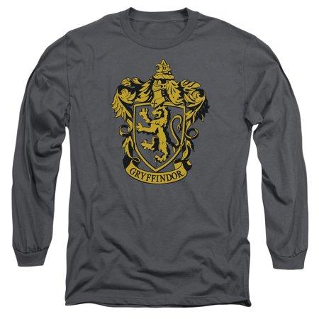 Harry Potter Gryffindor Crest Mens Long Sleeve Shirt](Gryffindor Shirt)