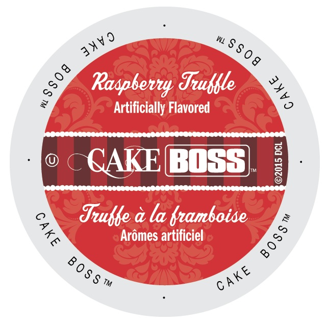Cake Boss Coffee Raspberry Truffle, Single Serve Cup Portion Pack for Keurig K-Cup Brewers, 96 Count
