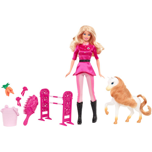 Barbie I Can Be Pony Trainer Doll