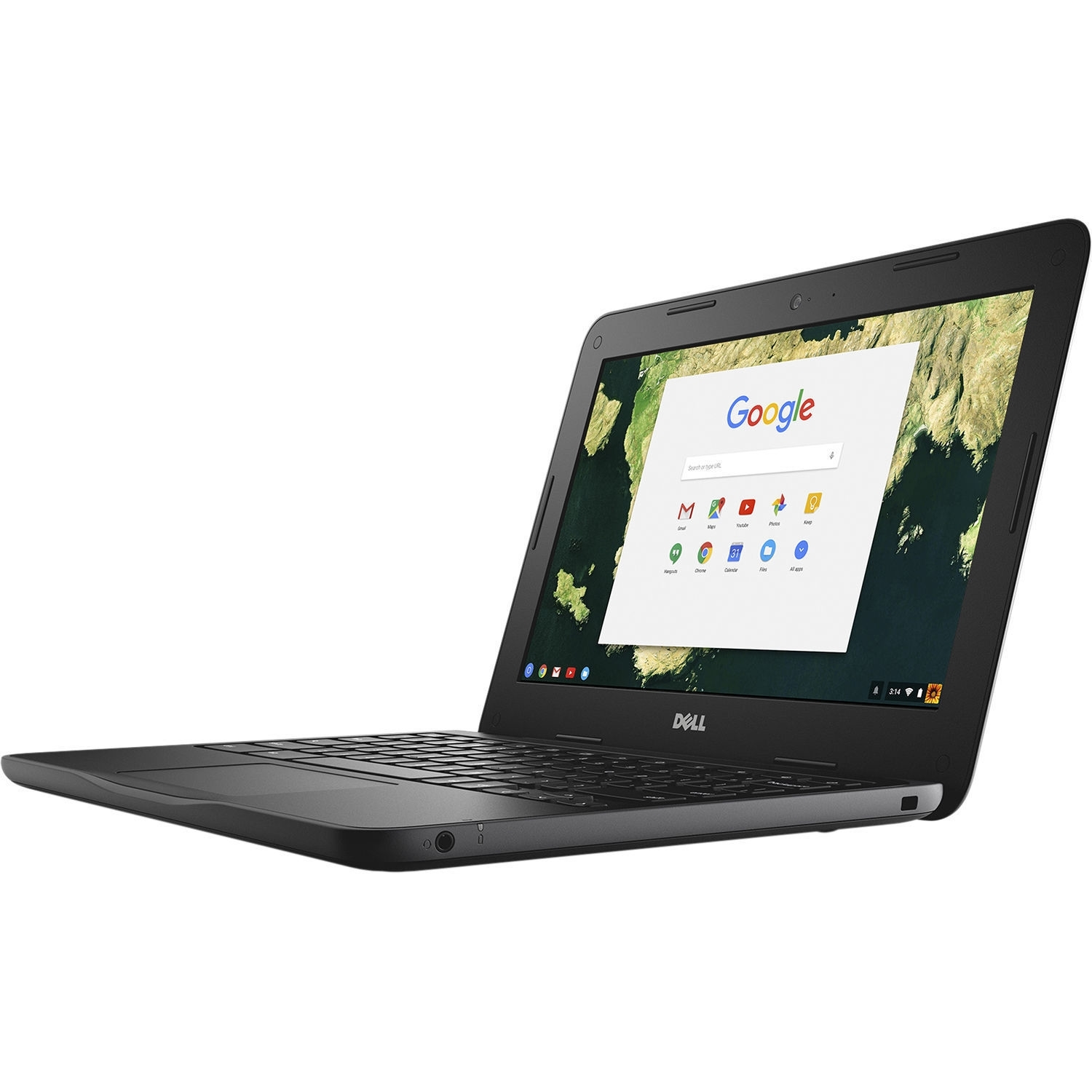 "Dell Chromebook 11 - 3180 Intel Celeron N3060 X2 1.6GHz 4GB 16GB 11.6"", Black (Scratch And Dent Refurbished)"