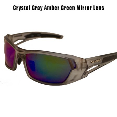 Light Mirror Lenses (Timmy Horton 1 Crystal Gray Amber Green Mirror Lens )