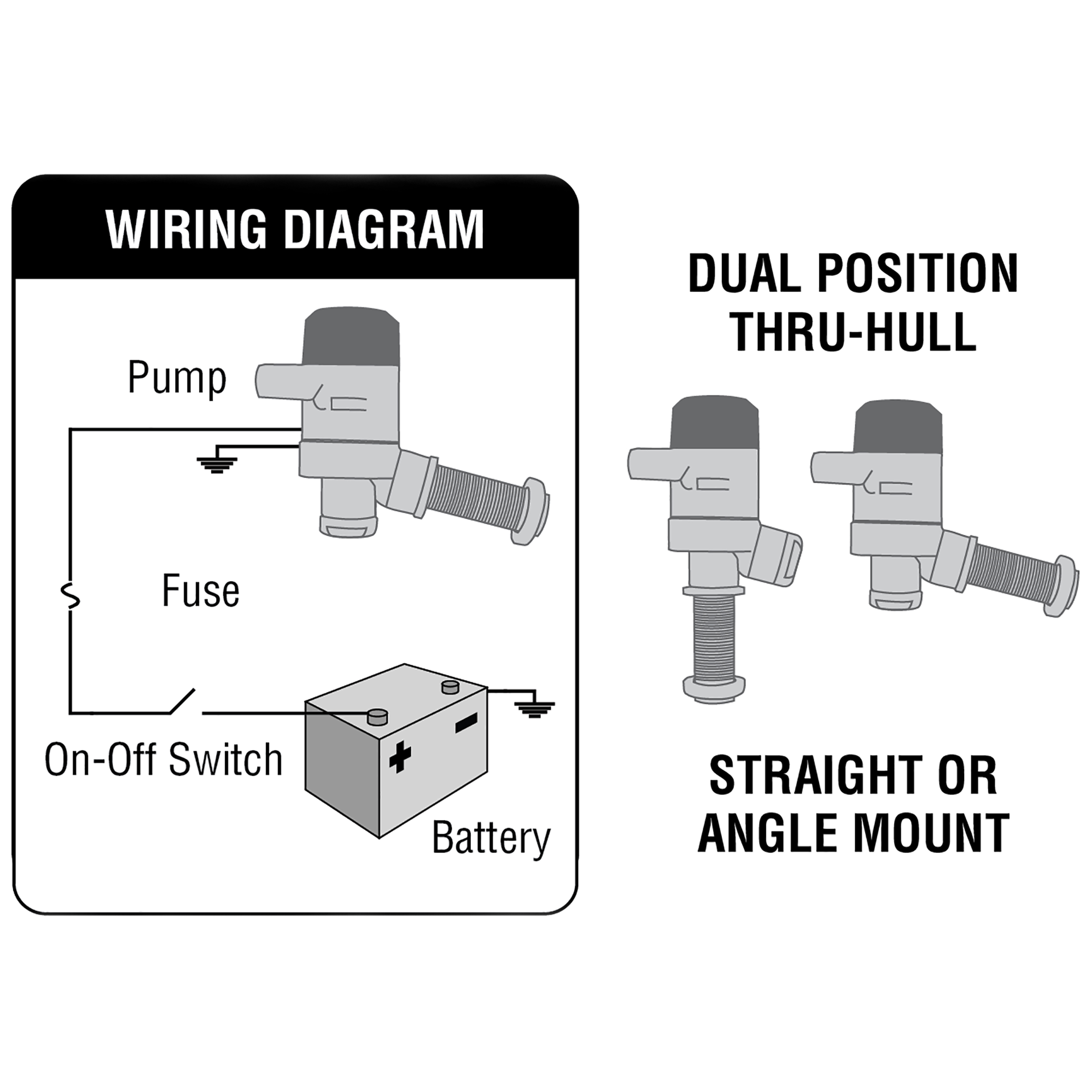 Shoreline Marine Bilge Pump Float Switch Wiring Diagram from i5.walmartimages.com