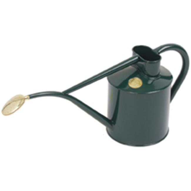 Haws V177G 2 Pint Green Indoor Metal Pot Waterer  includes Rose
