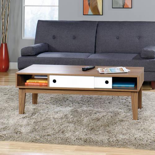 Sauder Soft Modern Living Room Furniture Collection Walmart Com