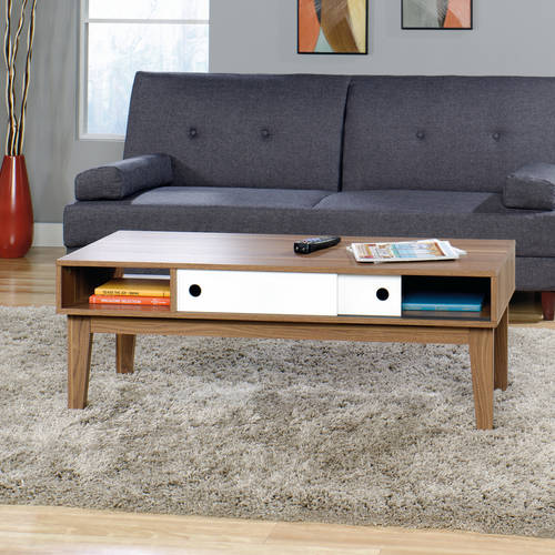 Sauder Soft Modern Living Room Furniture Collection
