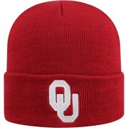 Men's Russell Crimson Oklahoma Sooners Team Cuffed Knit Hat - OSFA