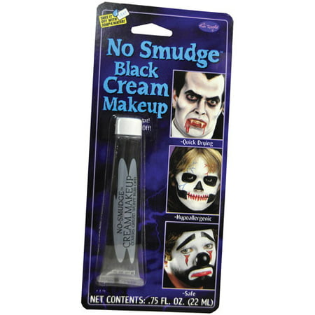 Black Halloween Makeup (No Smudge Makeup Adult Halloween)