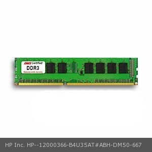 DMS Compatible/Replacement for HP Inc. B4U35AT#ABH Elite 8300 (Convertible mini tower) 2GB DMS Certified Memory DDR3-1600 (PC3-12800) 256x64 CL11  1.5v 240 Pin DIMM - DMS