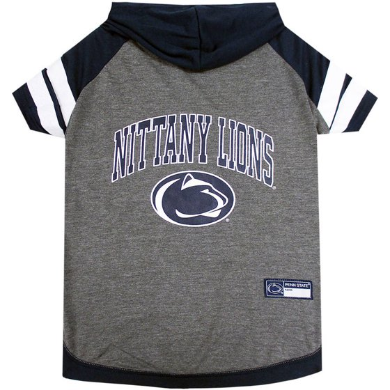 Pets First College Penn State Nittany Lions Pet Hoody Tee Shirt 849e1a73d