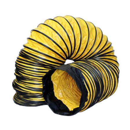 Image of Americ AM-DS1225 12 in. x 25 ft. Flexible Standard Ducting with Cuff and Buckle Ends