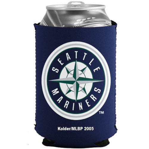 Seattle Mariners Navy Blue Collapsible Can Cooler - No Size