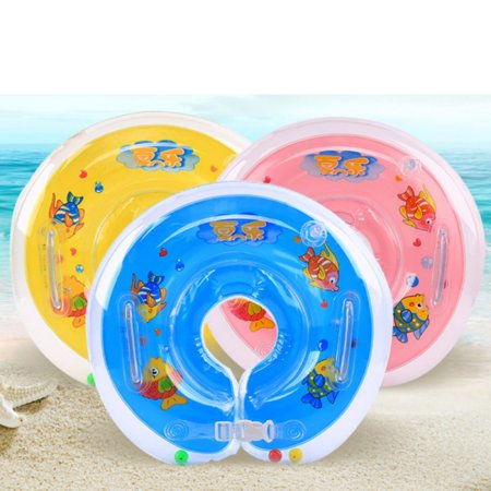 Summer Baby Pool Ring Float, Inflatable Circle Float For Infants Toddlers Swim Safety Swimming