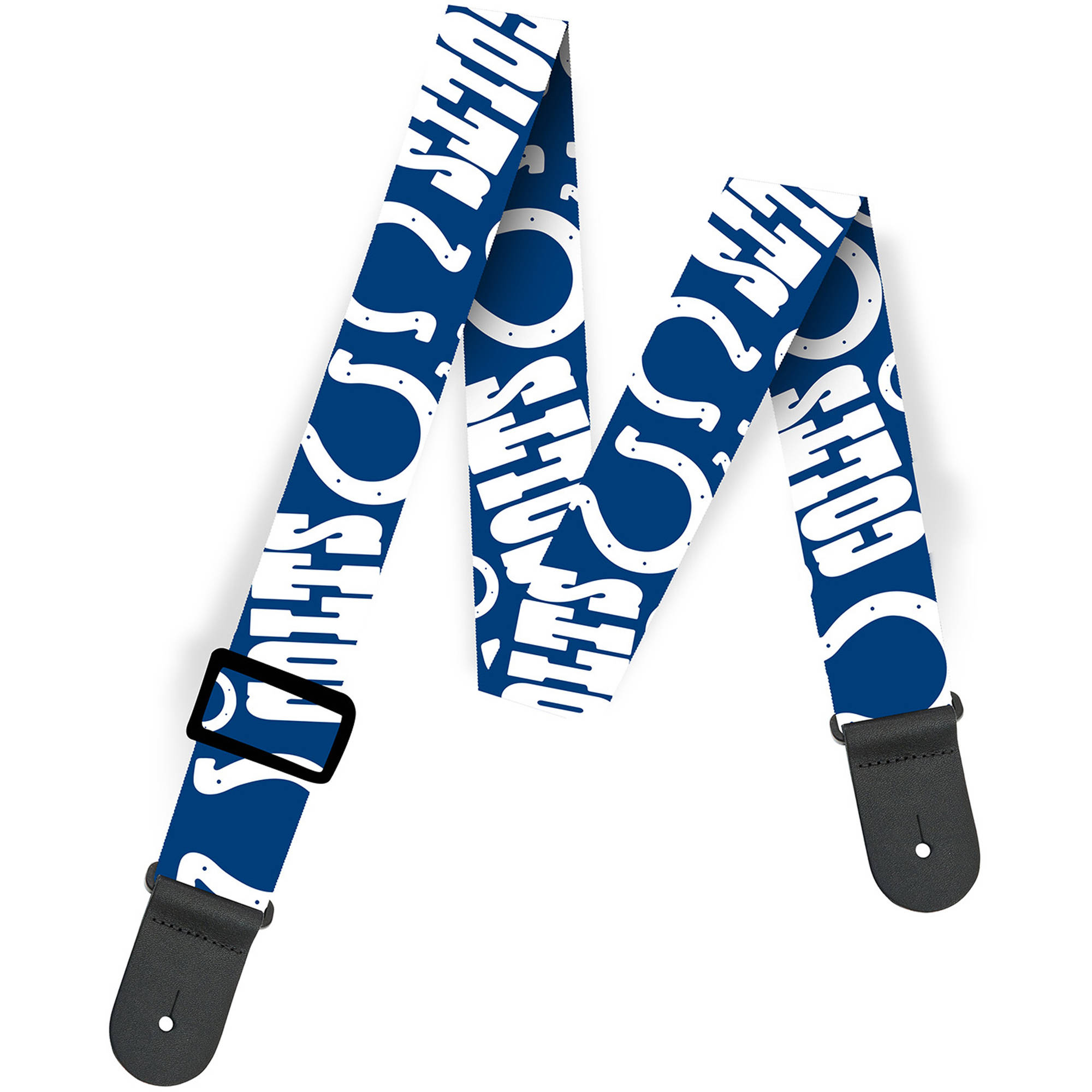 Woodrow NFL Guitar Strap, Indianapolis Colts