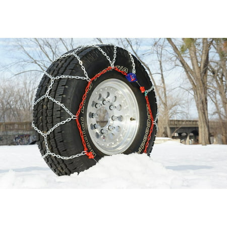 Auto Trac 232105 Series 2300 Pickup Truck Suv Traction Snow Tire Chains Pair