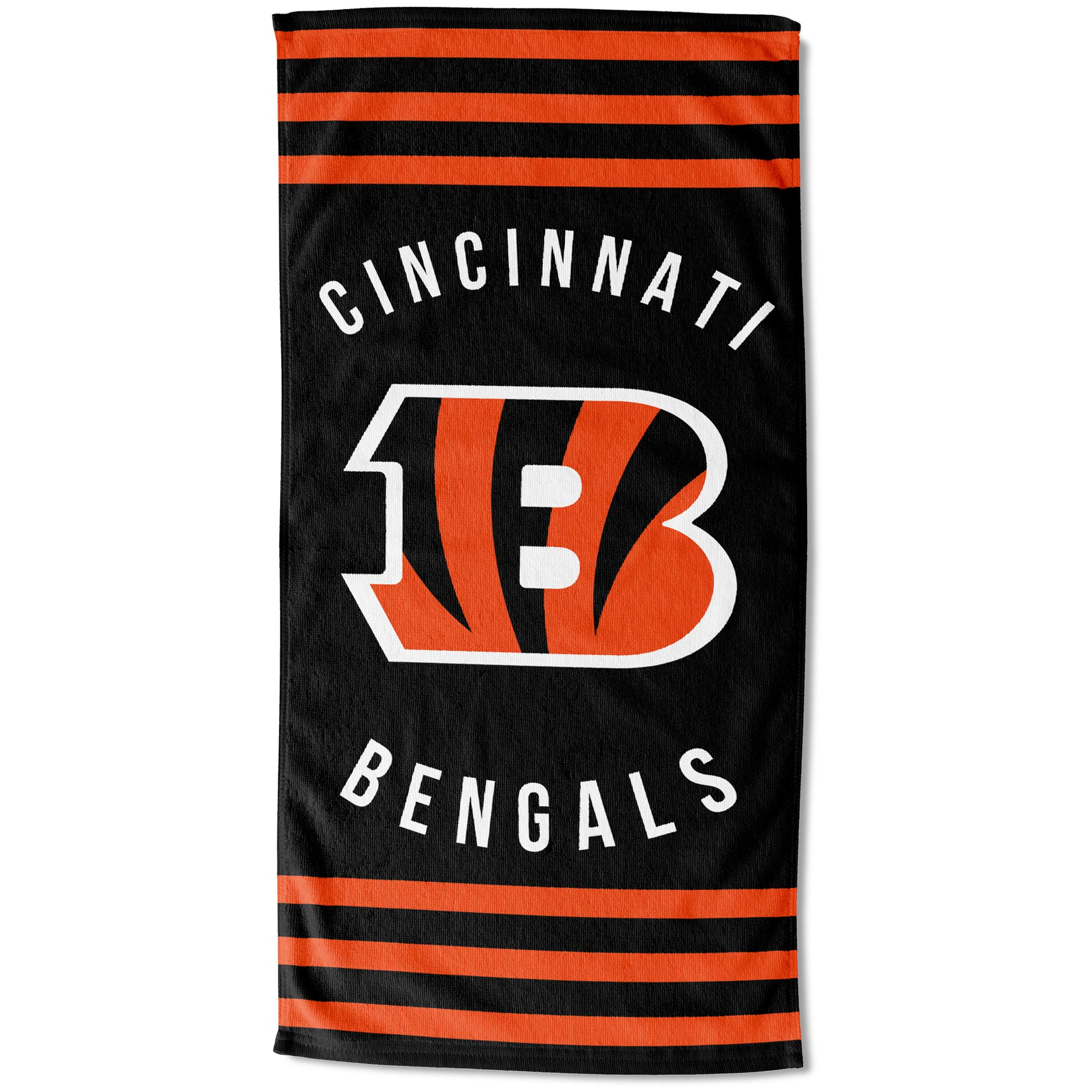 "Cincinnati Bengals The Northwest Company 30"" x 60"" Striped Beach Towel - No Size"