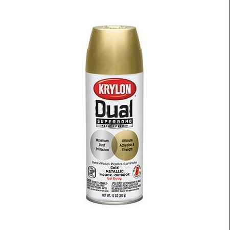 Krylon Diversified Brands Dual Metallic Finish Spray Paint