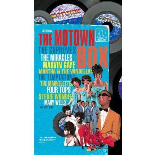 The Motown Box (4 Disc Box Set)